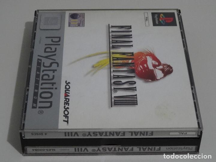 Videojuegos y Consolas: PLAY STATION PS1 - Final Fantasy VIII 8 MUY BUEN ESTADO Ed. Español - Foto 11 - 210152970