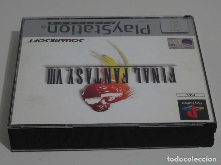 Videojuegos y Consolas: PLAY STATION PS1 - Final Fantasy VIII 8 MUY BUEN ESTADO Ed. Español - Foto 12 - 210152970