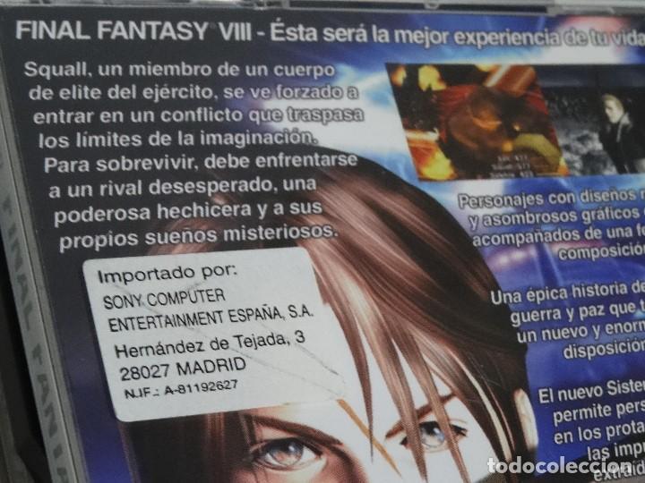 Videojuegos y Consolas: PLAY STATION PS1 - Final Fantasy VIII 8 MUY BUEN ESTADO Ed. Español - Foto 15 - 210152970