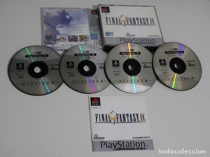 PLAY STATION PS1 - FINAL FANTASY IX 9 ED. ESPAÑOL - CDS EN MUY BUEN ESTADO (Juguetes - Videojuegos y Consolas - Sony - PS1)