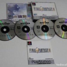 Videojuegos y Consolas: PLAY STATION PS1 - FINAL FANTASY IX 9 ED. ESPAÑOL - CDS EN MUY BUEN ESTADO. Lote 210153220