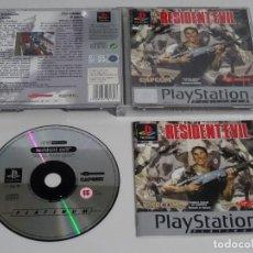 Videojuegos y Consolas: PLAY STATION PS1 - RESIDENT EVIL BUEN ESTADO ED. ESPAÑOL. Lote 210153320
