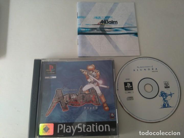 ALUNDRA PARA PS1 PS2 Y PS3 ENTRE Y MIRE MIS OTROS JUEGOS (Juguetes - Videojuegos y Consolas - Sony - PS1)