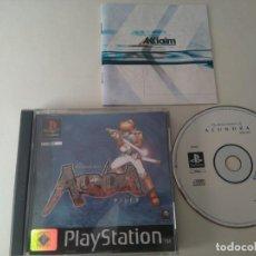 Videojuegos y Consolas: ALUNDRA PARA PS1 PS2 Y PS3 ENTRE Y MIRE MIS OTROS JUEGOS. Lote 210206412