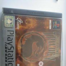 Videojuegos y Consolas: MORTAL KOMBAT TRILOGY PS1 PAL ESPAÑA (PLATINUM) MBE. Lote 210303648