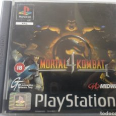 Videojuegos y Consolas: MORTAL KOMBAT 4 PS1 COMO NUEVO. Lote 210304325