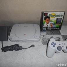 Videojogos e Consolas: CONSOLA PS1 PS ONE + ALL STAR TENNIS 99. Lote 210336096