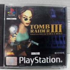 Videojogos e Consolas: TOMB RAIDER 3 PSX PS1 PLAYSTATION. Lote 210473410