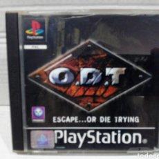 Videojuegos y Consolas: O.D.T PS1 PSX PLAYSTATION COMPLETO. Lote 210522500
