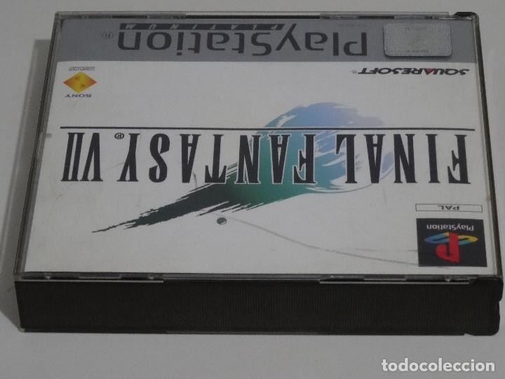 Videojuegos y Consolas: PLAY STATION PS1 - Final Fantasy VII 7 Ed. Español - Foto 7 - 210153141