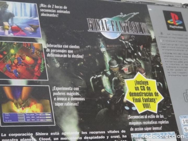 Videojuegos y Consolas: PLAY STATION PS1 - Final Fantasy VII 7 Ed. Español - Foto 10 - 210153141