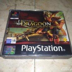 Videojuegos y Consolas: JUEGO LEGEND OF DRAGOON PLAYSTATION PS1 PAL ESPAÑA ESPAÑOL. Lote 210601331