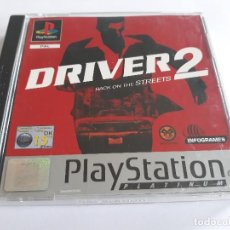 Videojuegos y Consolas: DRIVER 2 BACK ON THE STREETS STREET PAL PSX PS1 PLAYSTATION 1 PLAY STATION ONE. Lote 211444617