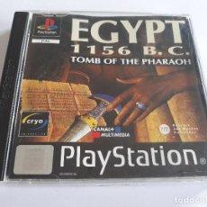 Videojuegos y Consolas: JUEGO - SONY PLAYSTATION - PS1 - EGYPT 1156 B. C. TOMB OF THE PHARAOH - PAL. Lote 211444650