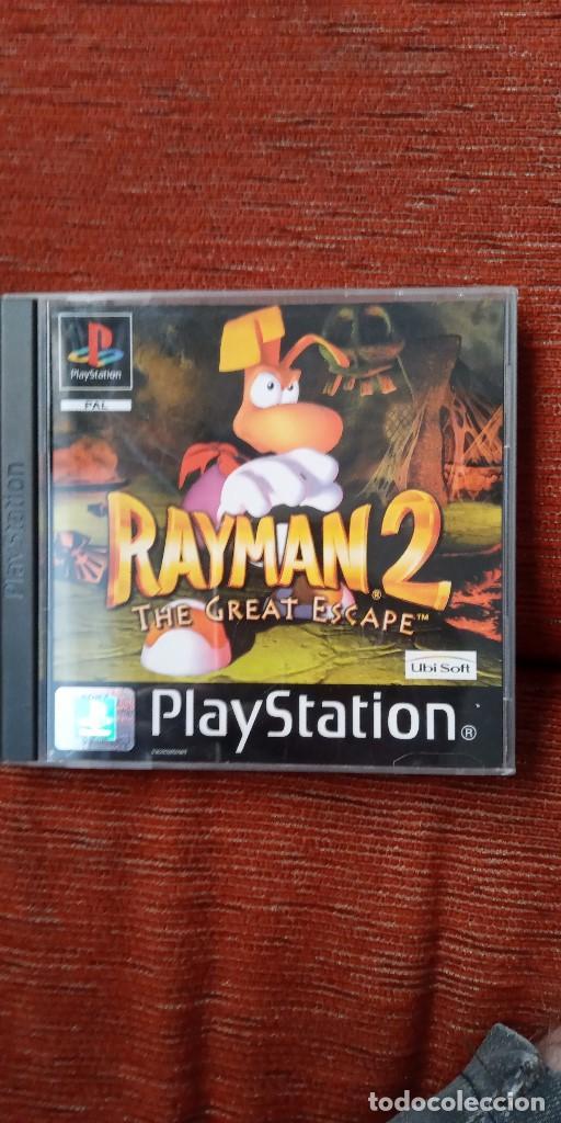 PSX RAYMAN 2 (Juguetes - Videojuegos y Consolas - Sony - PS1)