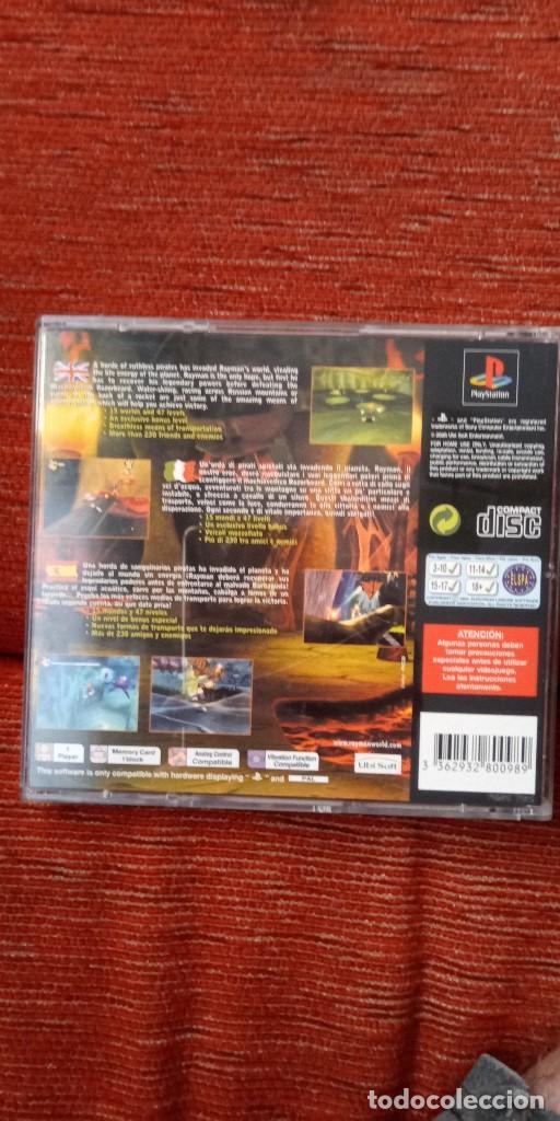 Videojuegos y Consolas: PSX Rayman 2 - Foto 5 - 211585491