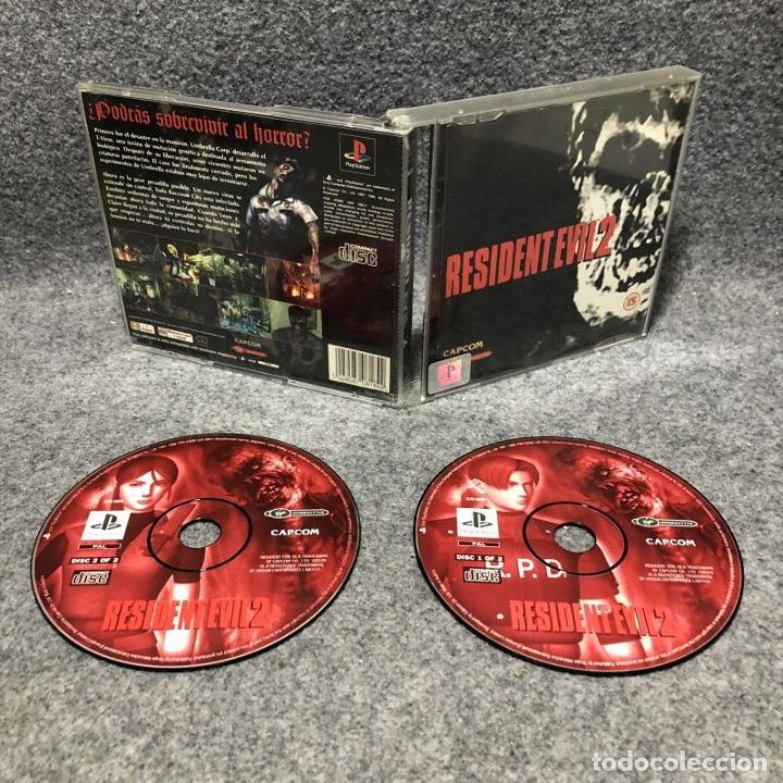 RESIDENT EVIL 2 SONY PLAYSTATION PS1 (Juguetes - Videojuegos y Consolas - Sony - PS1)