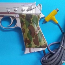 Videojuegos y Consolas: PISTOLA BIO GUN CAMUFLAGE - FOR SEGA SATURN PLAYSTATION SPECIAL WEAPON I-MAN. Lote 211697133