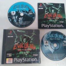 Videojogos e Consolas: EVIL DEAD PS1 PS2 Y PS3 ENTRE MIRE MIS OTROS JUEGOS NINTENDO SEGA MEGADRIVE DREAMCAST SATURN. Lote 212605725
