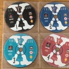 Videojuegos y Consolas: PS1 EXPEDIENTES X (SOLO DISCOS) THE X FILES. Lote 213369658