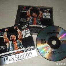 Videojuegos y Consolas: VIDEOJUEGO WWF WAR ZONE PLAYSTATION 1 PS1. Lote 213398047