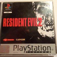 Videojuegos y Consolas: JUEGO PLAY 1 PSX RESIDENT EVIL 2 PLATINUM CON MANUAL EXCELENTE ESTADO (1998). Lote 214111065
