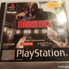 Videojuegos y Consolas: JUEGO PLAY 1 PSX RESIDENT EVIL 3 NEMESIS PAL SIN MANUAL EXCELENTE ESTADO (1999). Lote 214111462