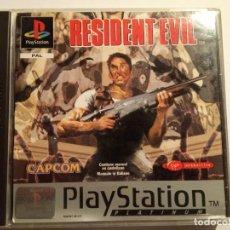 Videojuegos y Consolas: JUEGO PLAY 1 PSX RESIDENT EVIL PLATINUM PAL CON MANUAL EXCELENTE ESTADO (1996). Lote 214112113