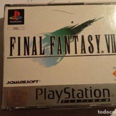 Videojuegos y Consolas: JUEGO FINAL FANTASY VII PS1 PSX, PAL 4 DVD CON INSTRUCCIONES EN EXCELENTE ESTADO. Lote 214112610