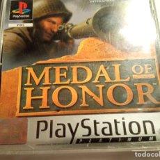 Videojuegos y Consolas: JUEGO PLAY 1 PSX MEDAL OF HONOR, PAL, SIN MANUAL EXCELENTE ESTADO. Lote 214113212