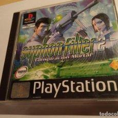 Videojuegos y Consolas: JUEGO SYPHON FILTER 2 (CONSPIRACION MORTAL), PAL, 2 DVD CON MANUAL Y EN EXCELENTE ESTADO (2000). Lote 214113665
