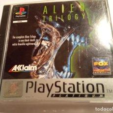 Videojuegos y Consolas: JUEGO ALIEN TRILOGY PS1 PSX, PAL CON INSTRUCCIONES EN EXCELENTE ESTADO. Lote 214113876