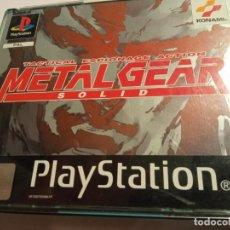 Videojuegos y Consolas: JUEGO PLAY 1 PSX METAL GEAR SOLID TACTICAL ESPIONAJE ACTION + SILENT HILL DEMO PAL CON MANUAL. Lote 214114731