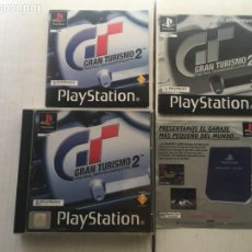 Videojuegos y Consolas: GRAN TURISMO 2 SOLO CAJA DOBLE CON MANAUALES MANUAL PSX PLAYSTATION 1 PLAY STATION ONE KREATEN GT2. Lote 214334063