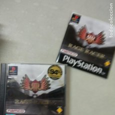 Videojuegos y Consolas: RAGE RACER - PSX PS1 PLAYSTATION 1 PLAY STATION - SONY - PAL UK. Lote 214337312