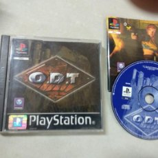 Videojuegos y Consolas: ODT O.D.T - PSX PS1 PLAYSTATION 1 PLAY STATION - SONY - PAL UK. Lote 214337433