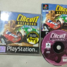 Videojuegos y Consolas: CIRCUIT BREAKERS - PSX PS1 PLAYSTATION 1 PLAY STATION - SONY - PAL UK. Lote 214338570