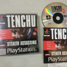 Videojuegos y Consolas: TENCHU STEALTH ASSASSINS - PSX PS1 PLAYSTATION 1 PLAY STATION - SONY - PAL UK. Lote 214338995