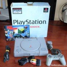 Videojuegos y Consolas: CONSOLA SONY PLAYSTATION 1 - FUNCIONANDO CORRECTAMENTE - PSX - PS1 - EN SU CAJA ORIGINAL. Lote 217453331