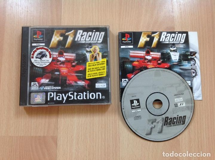 F1 RACING. PSX PLAY STATION (Juguetes - Videojuegos y Consolas - Sony - PS1)