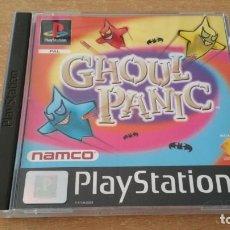 Videogiochi e Consoli: GHOUL PANIC PLAYSTATION PSX PAL ESPAÑA NAMCO JUEGO PARA GCON 45 PISTOLA. Lote 217851116