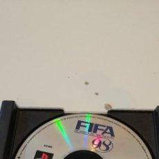 Videojuegos y Consolas: G-33 JUEGO - SONY PLAYSTATION - PS1 - FIFA 98 FALTA PORTADA. Lote 218157643