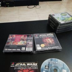 Videojuegos y Consolas: STARS WARS EPISODIO 1,LA AMENAZA FANTASMA, PLAYSTATION 1, PS1. Lote 218467661