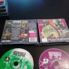 Videojuegos y Consolas: ODDWOLD ABE'S EXODUS, PLAYSTATION 1, PS1. Lote 218474688