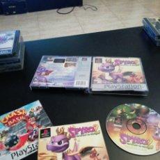 Videojuegos y Consolas: SPYRO 2, PLAYSTATION 1 PLATINUM, PS1. Lote 218484576
