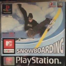 Videojuegos y Consolas: SNOWBOARDING-PS1-PLAYSTATION 1-COMPLETO-RARO. Lote 218761627