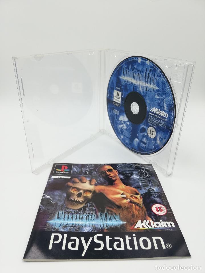 SHADOW MAN PS1 (Juguetes - Videojuegos y Consolas - Sony - PS1)