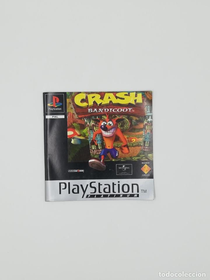 Videojuegos y Consolas: CRASH BANDICOOT PLATINUM PS1 - Foto 2 - 218802520