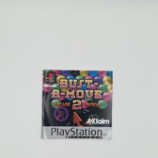 Videojuegos y Consolas: MANUAL BUST-A-MOVE 2 ARCADE EDITION PLATINUM PS1. Lote 218802985