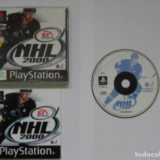 Videojuegos y Consolas: JUEGO PSX NHL 2000. Lote 219296610